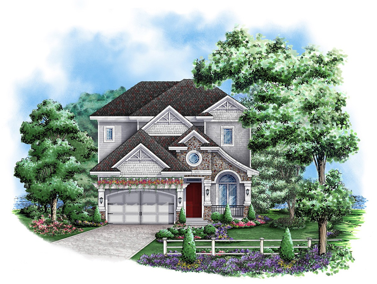 California Bungalow Style 66263we Architectural