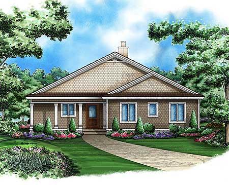 Cedar shake cottage 66266we 1st floor master suite for Cedar shake cottage