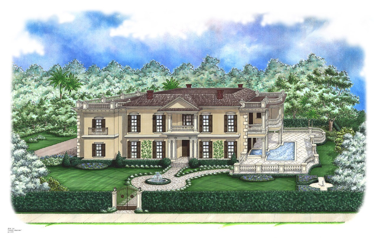 Two Story Covered Porches 66289we Architectural Designs House Plans