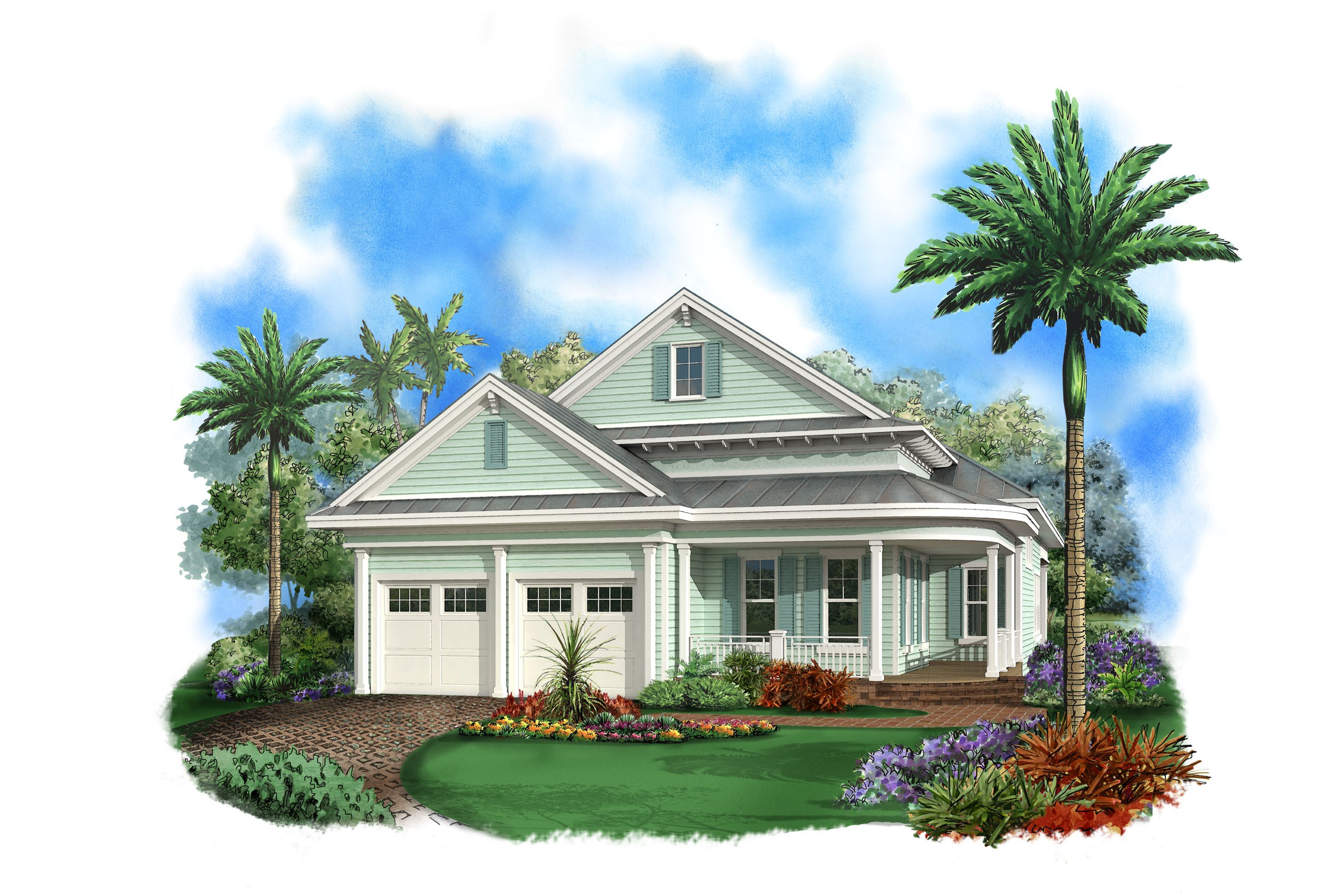 Marvelous in law suite 66295we 1st floor master suite for Two story florida house plans