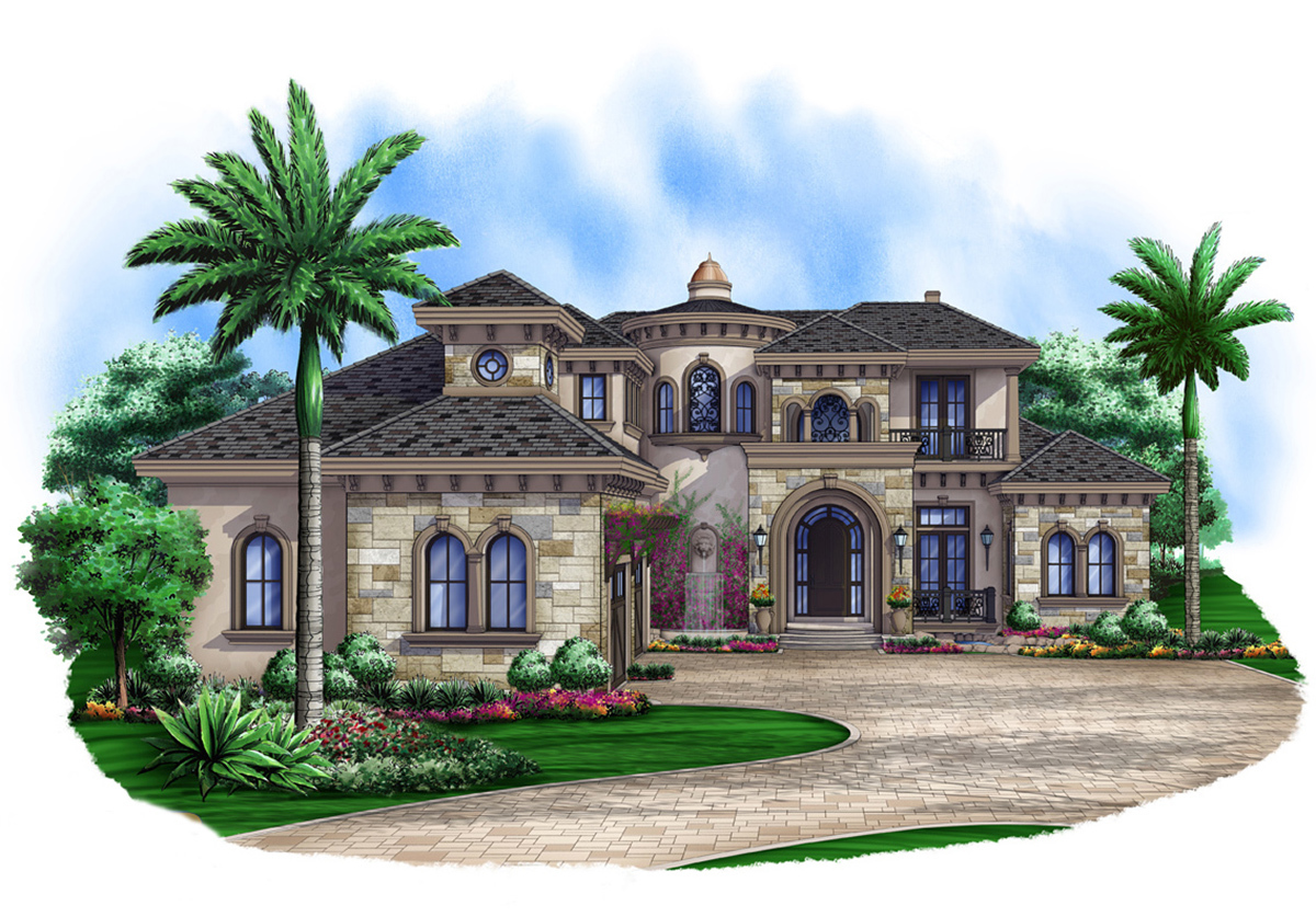 Pure elegance 66326we architectural designs house plans for Pure home designs