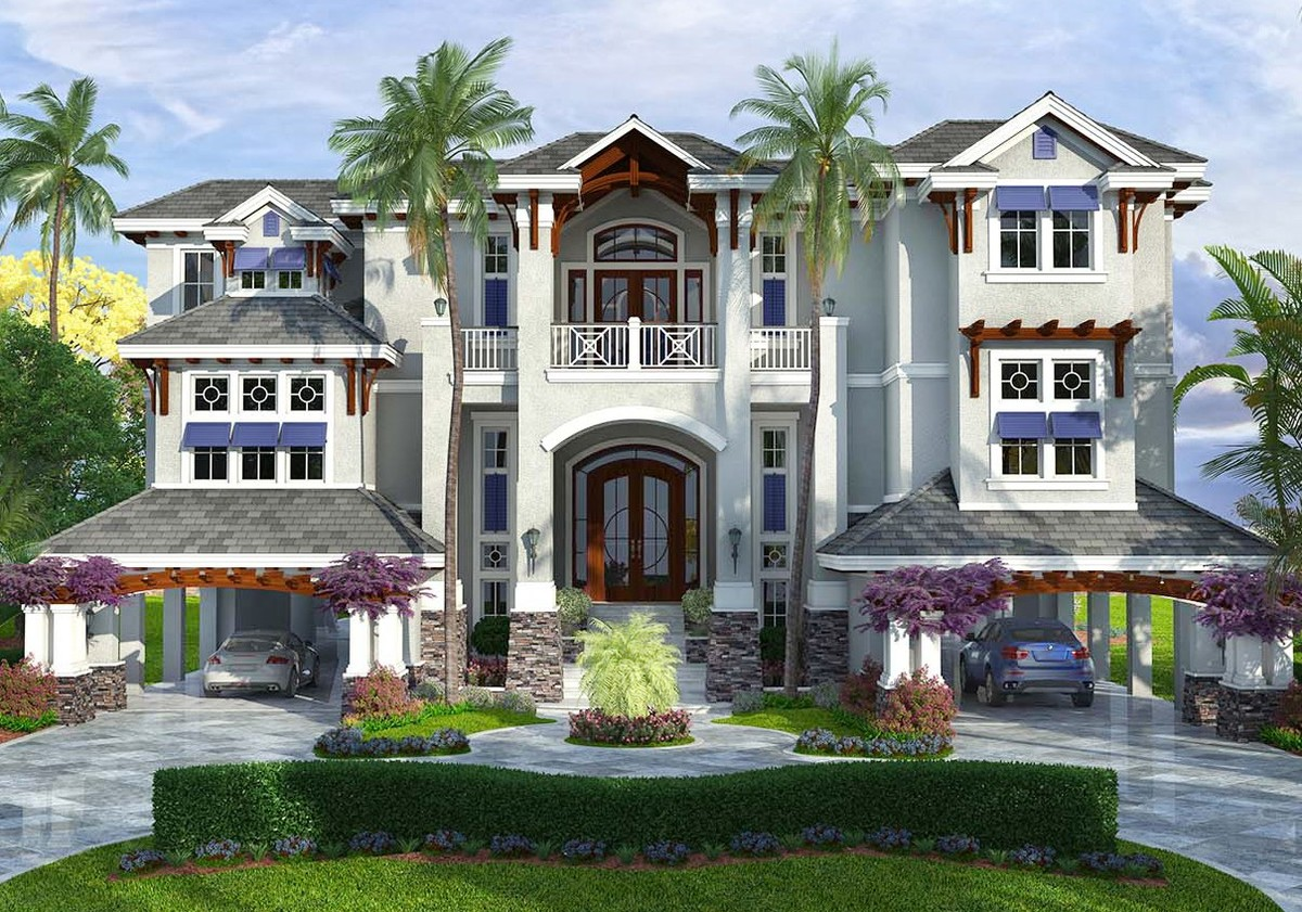 Two master suites 66329we architectural designs for Dual master suite house plans