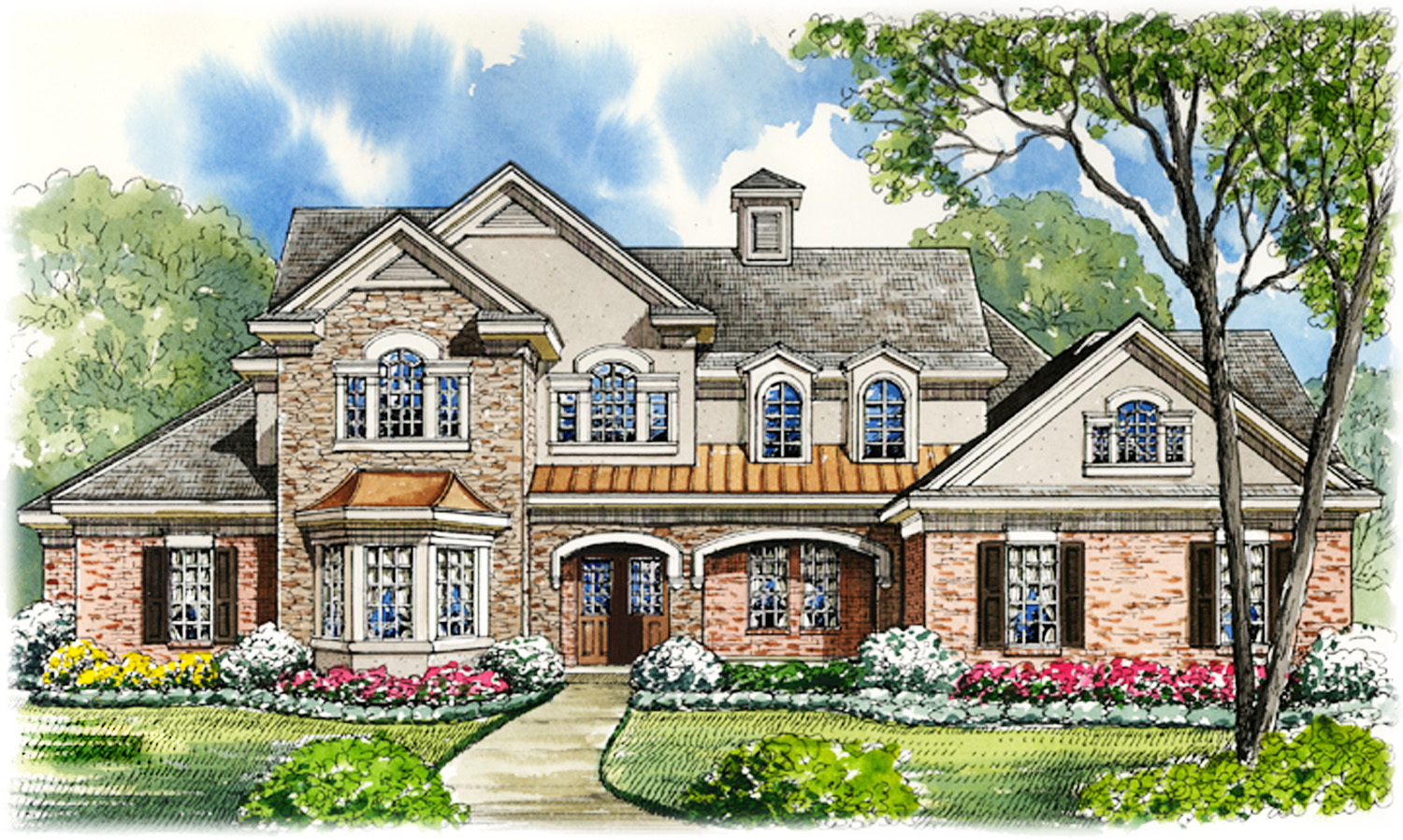 Casita with gazebo ceiling 67071gl architectural for House plans with casitas