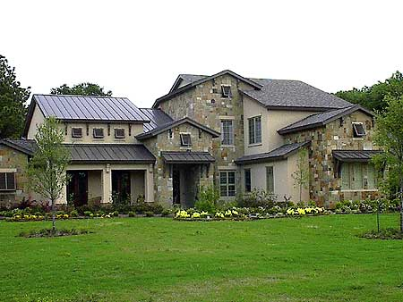 Compelling hill country house plan 67078gl 1st floor for Custom country house plans