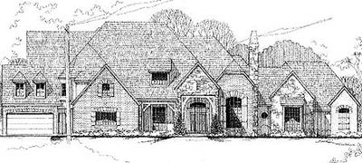Six bedroom european estate home 67110gl architectural for European estate house plans