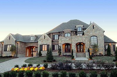 French Country Estate Home Plan - 67115GL thumb - 02