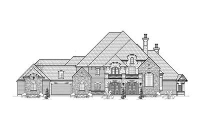 French Country Estate Home Plan - 67115GL thumb - 12