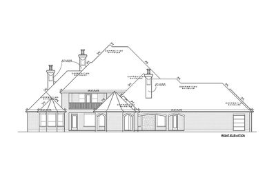 French Country Estate Home Plan - 67115GL thumb - 13