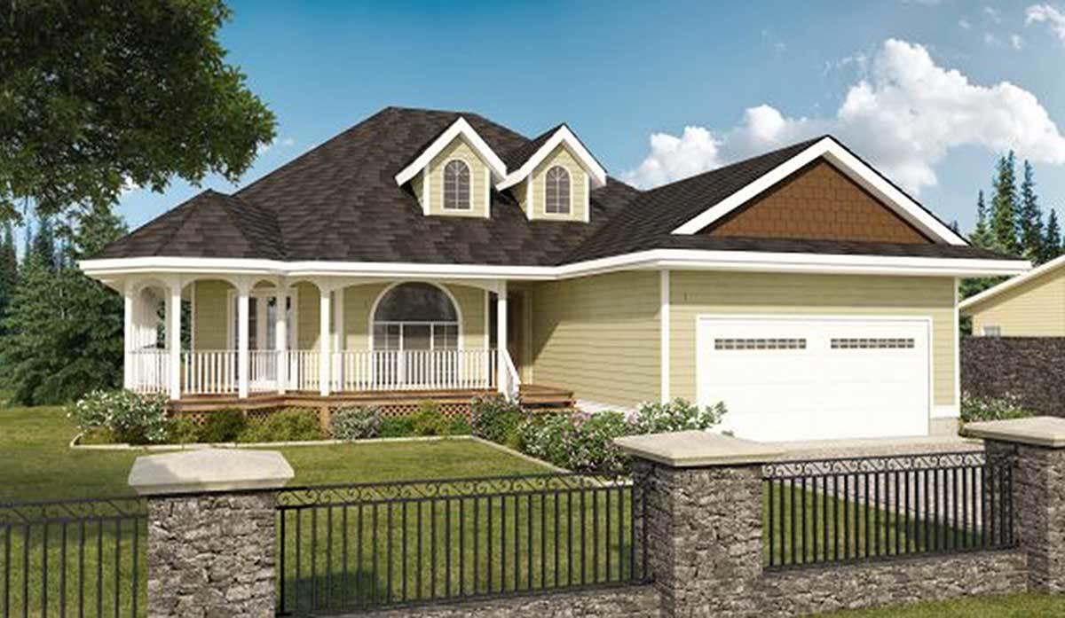 Built in gazebo 6715mg architectural designs house plans for Built in gazebo