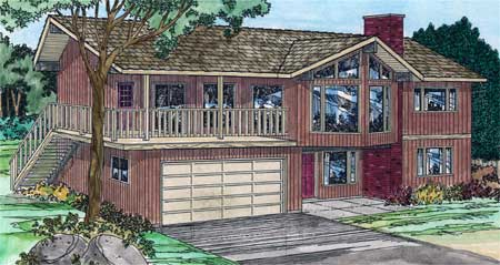 Multi Featured Basement Entry   MG   st Floor Master Suite    Plan MG