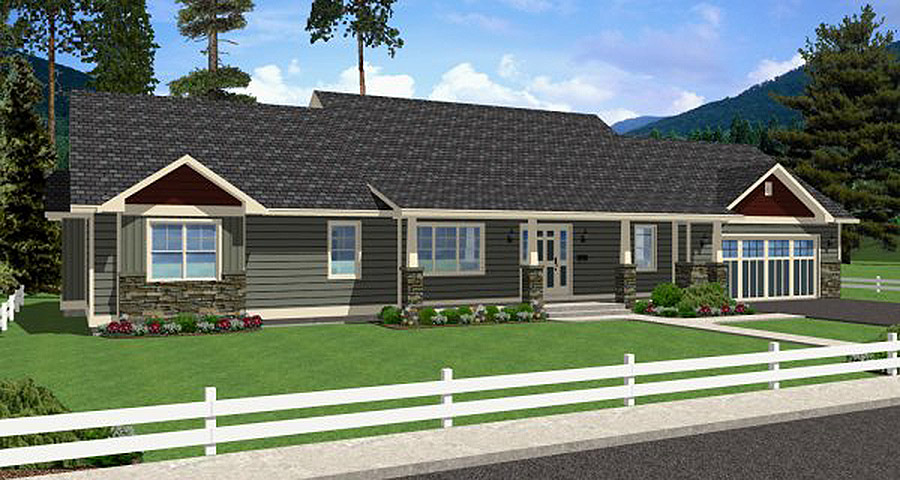 Classic ranch home 6744mg architectural designs for Classic ranch home plans