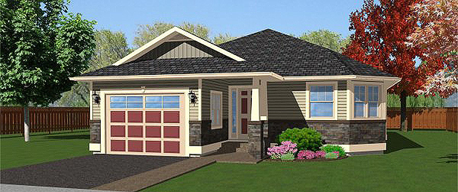Northwest Cutie 6748mg Architectural Designs House Plans
