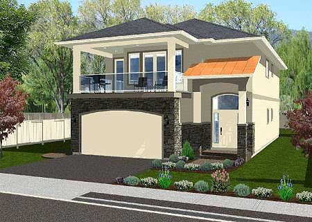 6789MG e - 24+ Small House Plans With Second Floor Balcony Background