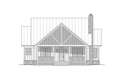 Cottage Escape with 3 Master Suites - 68400VR thumb - 16