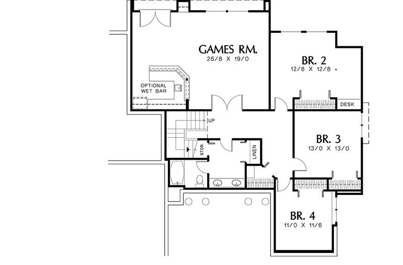 Designed for entertaining 6852am 1st floor master for Large home plans for entertaining