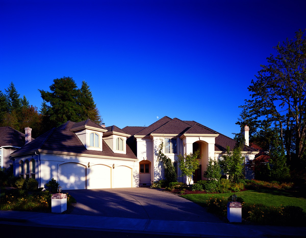 Elegant Two Story With Angled Garage 6855am