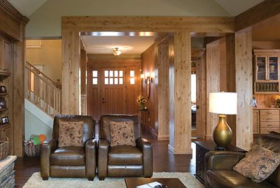Charming and Luxurious Craftsman Home Plan - 69002AM thumb - 08