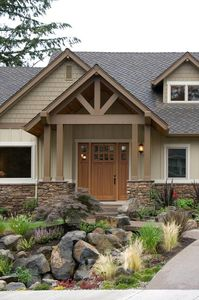 Charming and Luxurious Craftsman Home Plan - 69002AM thumb - 02