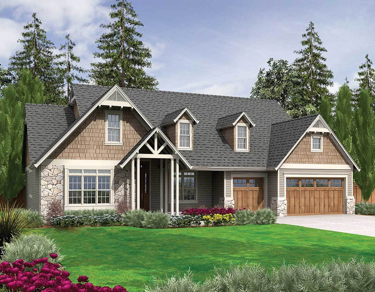 Spacious home plan with ample storage 69003am for Spacious house plans