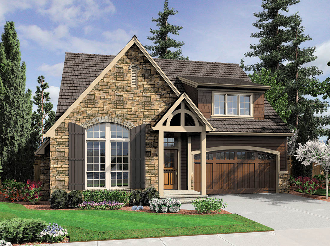 Home Designs October 2012: Cottage Design With Large Living Space