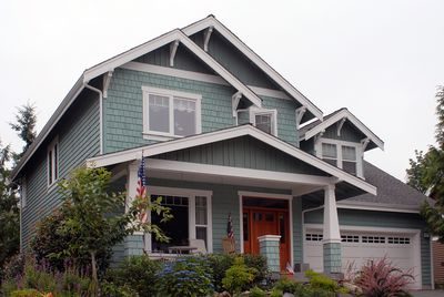 Craftsman Home Plan with Bonus Room - 6903AM thumb - 02