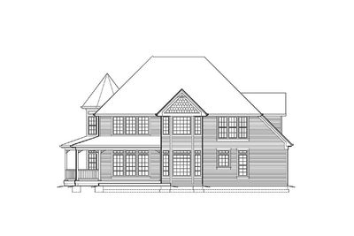 Victorian With Wraparound Porch - 69044AM thumb - 04