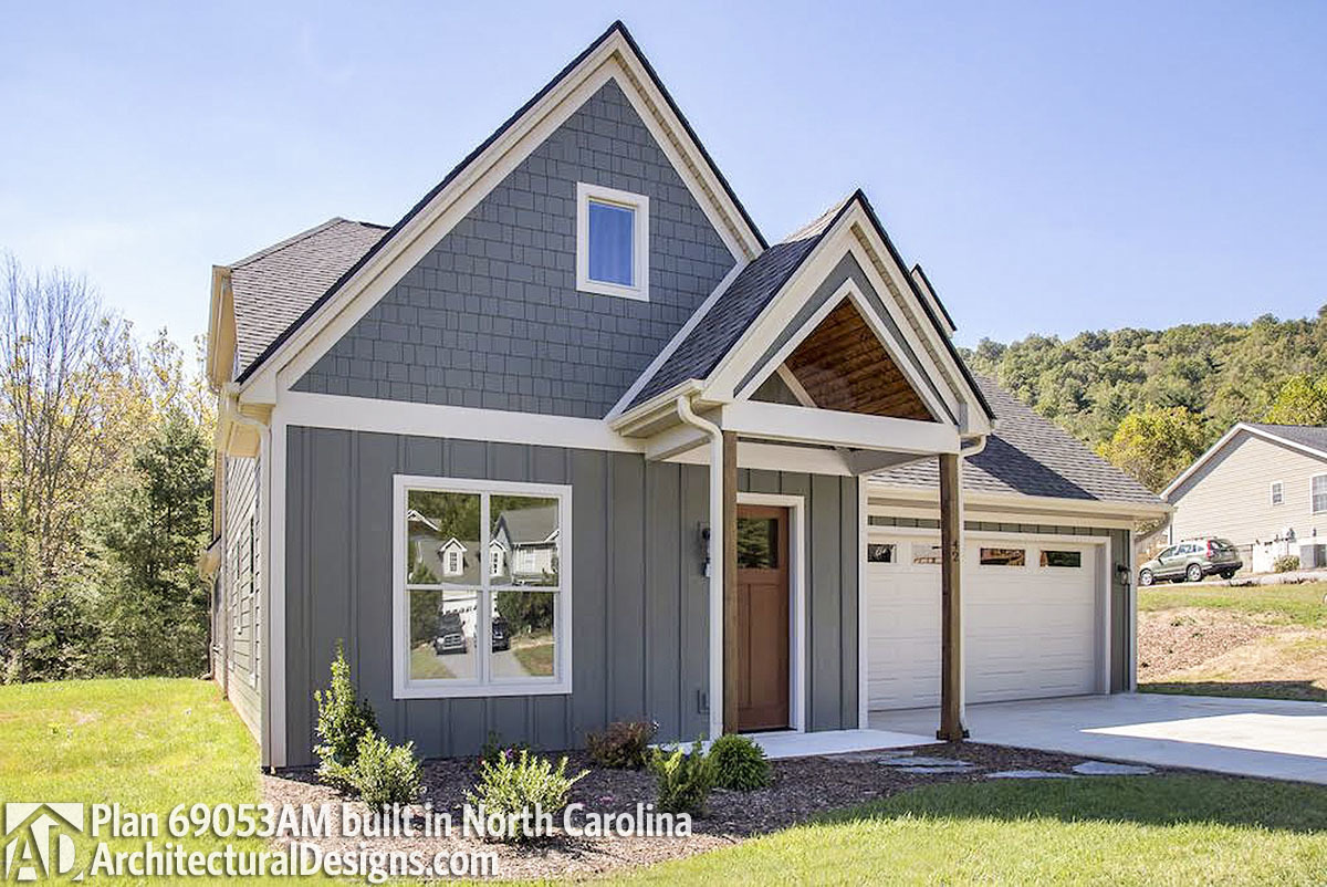 House plan 69053am comes to life in north carolina for House plans nc