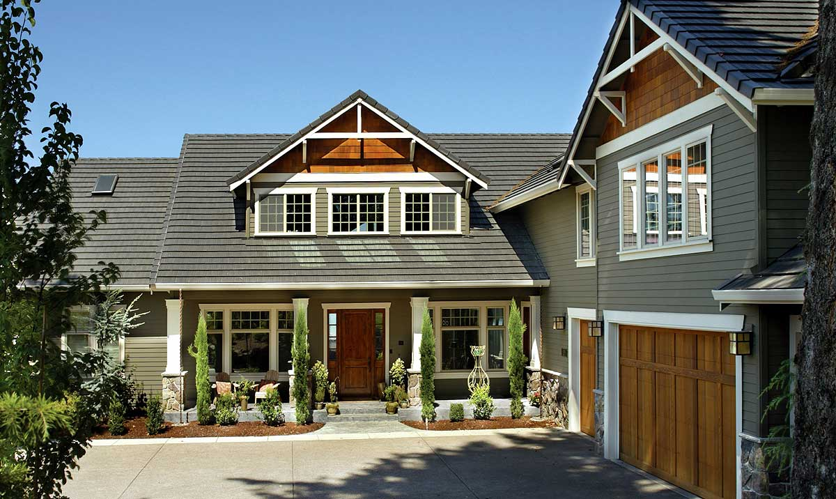 Classic craftsman home plan 69065am architectural for L shaped craftsman home plans