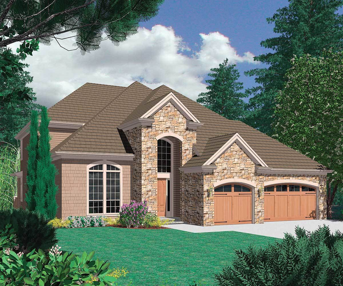 house plans with daylight basement compact daylight basement 69069am architectural 24181
