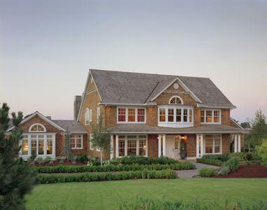 Rambling And Rustic Shingle Style House Plan - 69079AM thumb - 01
