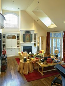 Rambling And Rustic Shingle Style House Plan - 69079AM thumb - 03