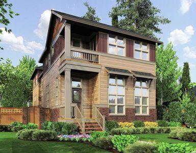 unique 2 story narrow lot plan - 69090am | architectural designs