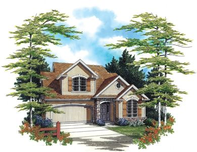 Country Cottage Design - 6910AM thumb - 01