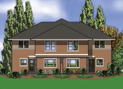 Hillside Multi-Family Home Plan - 69111AM thumb - 07