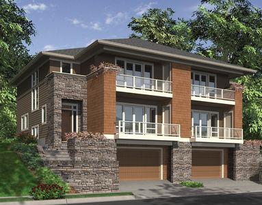 Hillside Multi-Family Home Plan - 69111AM thumb - 03