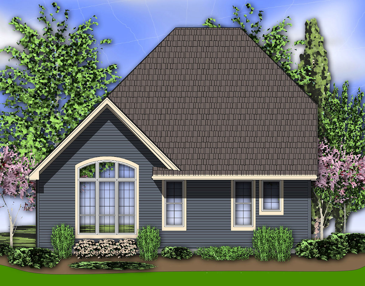 european cottage plan with high ceilings 69128am 1st european cottage style house plans decor house style