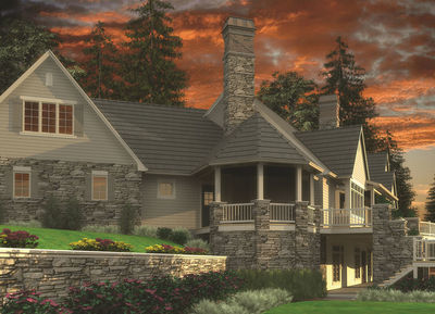 almost 9000 square feet of luxury 69142am thumb 02 - 9000 Square Feet House Plans