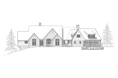 almost 9000 square feet of luxury 69142am thumb 04 - 9000 Square Feet House Plans