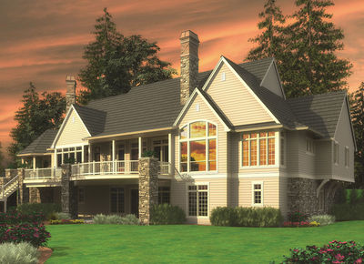 almost 9000 square feet of luxury 69142am thumb 03 - 9000 Square Feet House Plans