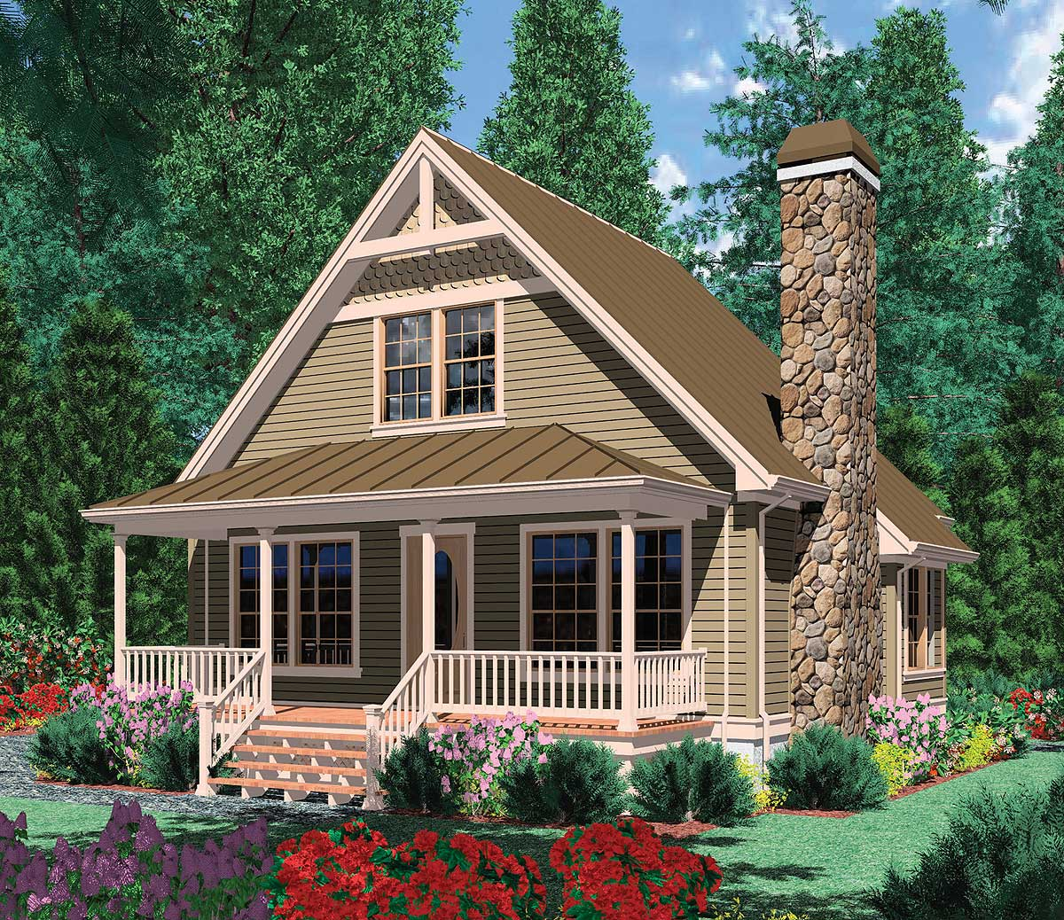 Home Plans: Architectural Designs - House
