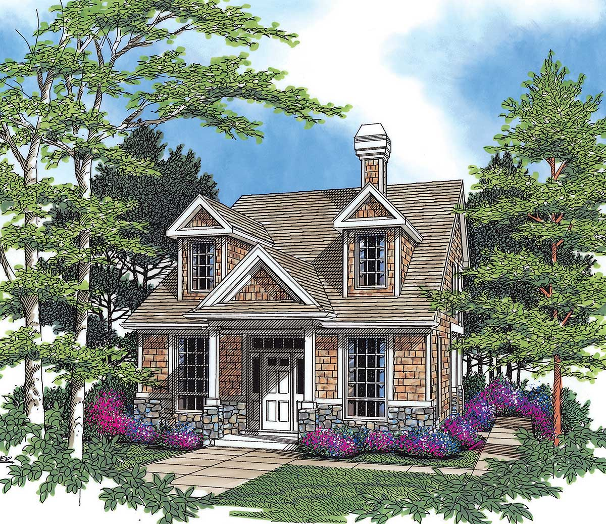 Storybook cottage 69181am architectural designs for Storybook cottage plans