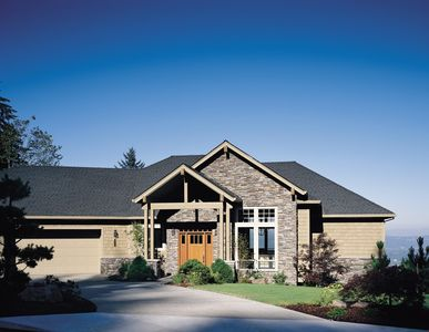 Contemporary Plan with Master Suite - 69271AM thumb - 01