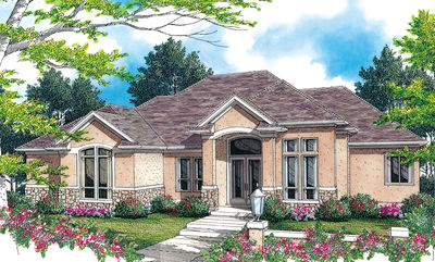 European Plan with Great Curb Appeal - 69272AM thumb - 02