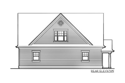 Two Bedroom Guest Suite over 3-Car Plan - 69395AM thumb - 02