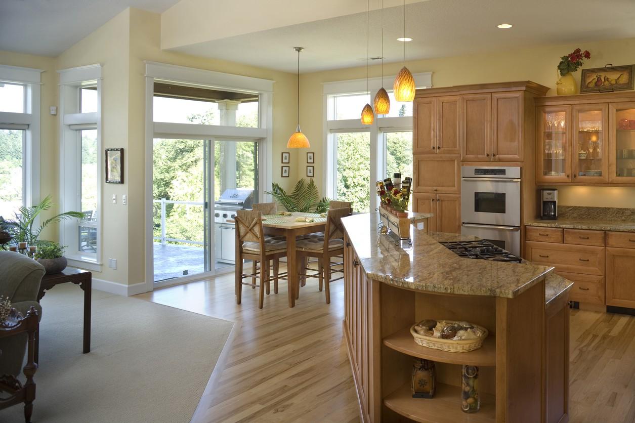 Architectural designs for Prairie style kitchen