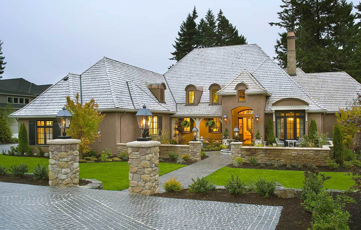 French country house plans architectural designs for Country style homes floor plans