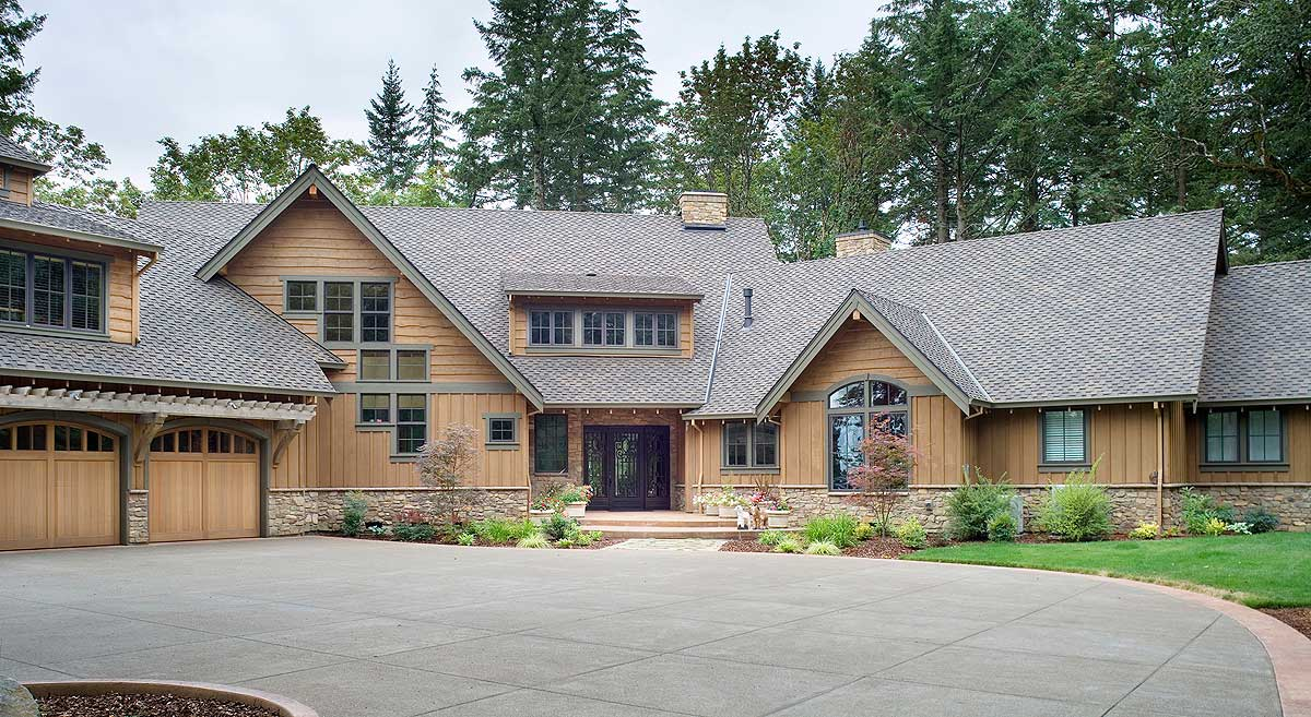 Luxurious mountain home plan 69474am architectural for Architectural design mountain home