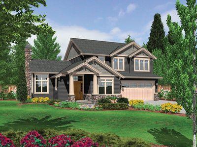 Quaint cottage design 6948am 2nd floor master suite for Cottage additions