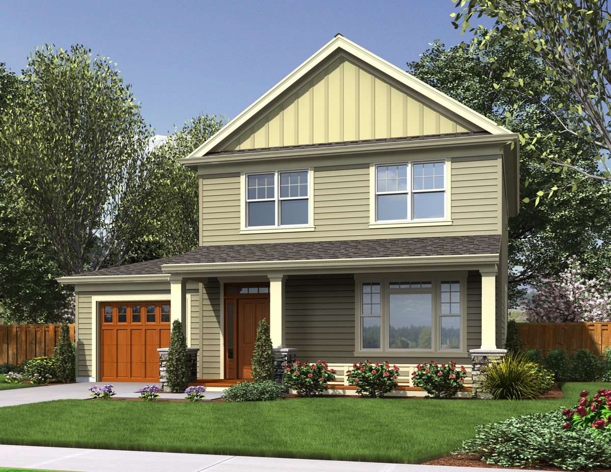 Compact northwest home plan 69507am architectural for Architecturaldesigns com house plan 56364sm asp