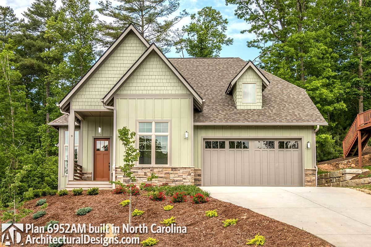 House Plan 6952am Comes To Life In North Carolina